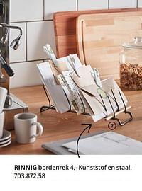 Rinnig bordenrek-Huismerk - Ikea