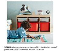 Trofast opbergcombinatie met bakken-Huismerk - Ikea