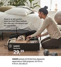 Vardö bedlade-Huismerk - Ikea