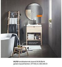 Vilto handdoekenrek staand-Huismerk - Ikea