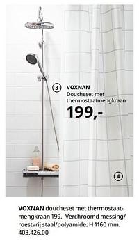 Voxnan doucheset met thermostaatmengkraan-Huismerk - Ikea