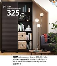 Bestå opberger met deuren-Huismerk - Ikea
