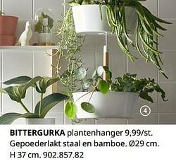 Bittergurka plantenhanger