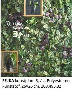 Fejka kunstplant