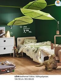 Löva bedhemel-Huismerk - Ikea