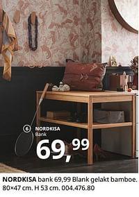 Nordkisa bank-Huismerk - Ikea