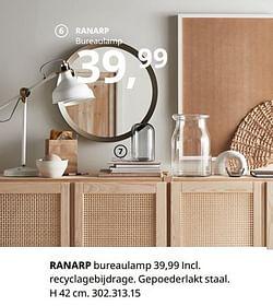 Ranarp bureaulamp