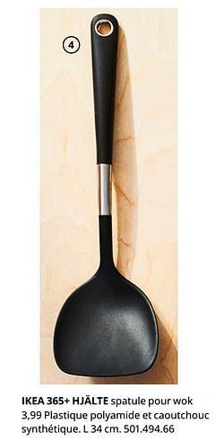 Ikea 365+ hjälte spatule pour wok