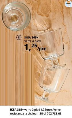 Ikea 365+ verre à pied