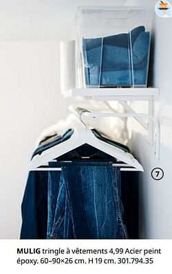 Mulig tringle à vêtements