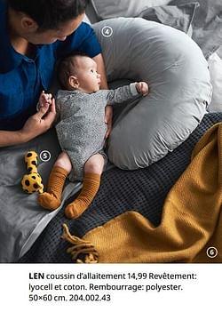 Len coussin d`allaitement