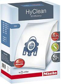 Miele 4 stofzuigerzakken + 2 filters GN-Miele
