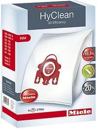 Miele 4 stofzuigerzakken + 2 filters HyClean Type FJM-Miele