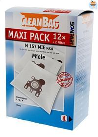 Scanpart Stofzuigerzakken CleanBag Maxipack Miele FJM - 12 stuks-Scanpart