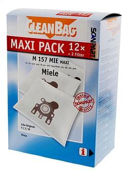 Scanpart Stofzuigerzakken CleanBag Maxipack Miele FJM - 12 stuks