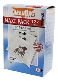 Scanpart Stofzuigerzakken CleanBag Maxipack Miele GN - 12 stuks-Scanpart