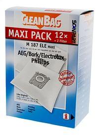 Scanpart Stofzuigerzakken CleanBag Maxipack S-Bag - 12 stuks-Scanpart