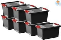 Keter Kis Opbergbox Bi-Box zwart 11 l - 7 stuks-Keter Kis