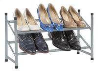 Casibel Schoenenrek grijs 10 paar schoenen-Casibel