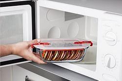 Pyrex Ovenschaal/rechthoekige bewaardoos Cook & Heat L 23 x B 15 cm