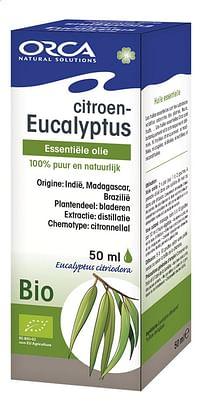 Orca Bio etherische olie citroeneucalyptus 50 ml-Orca