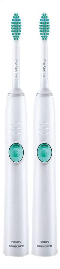 Philips 2 tandenborstels Sonicare EasyClean HX6512/02-Philips