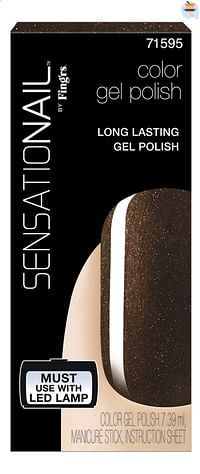 SensatioNail Gel Polish Espresso Bean-Sensationail
