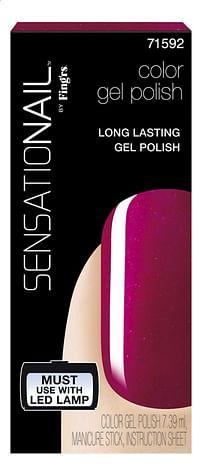 SensatioNail Gel Polish raspberry wine-Sensationail