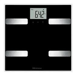 Medisana Personenweegschaal/vetmeter BSA41 zwart