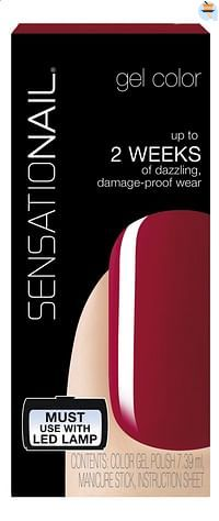 SensatioNail Gel Polish Juicy Sangria-Sensationail