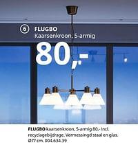 Flugbo kaarsenkroon-Huismerk - Ikea