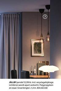 Jällby pendel-Huismerk - Ikea