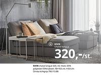 Kivik chaise longue-Huismerk - Ikea
