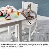 Sundvik kinderstoel-Huismerk - Ikea