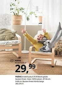 Poäng kinderfauteuil-Huismerk - Ikea