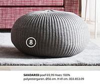 Sandared poef-Huismerk - Ikea