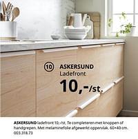 Askersund ladefront-Huismerk - Ikea