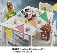 Duktig 10-delig koffie--theeset-Huismerk - Ikea