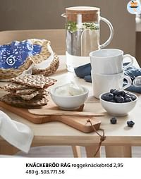 Knäckebröd råg roggeknäckebröd-Huismerk - Ikea