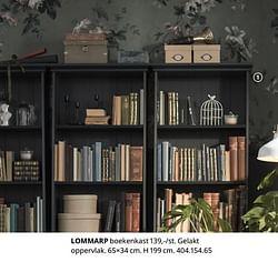 Lommarp boekenkast
