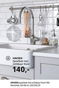 Havsen spoelbak met zichtbaar front-Huismerk - Ikea