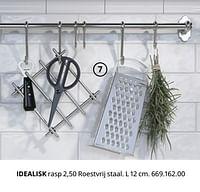 Idealisk rasp-Huismerk - Ikea