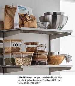 Ikea 365+ voorraadpot met deksel