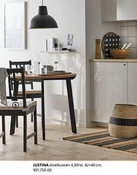 Justina stoelkussen-Huismerk - Ikea
