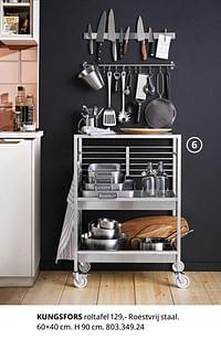 Kungsfors roltafel-Huismerk - Ikea