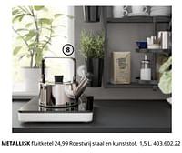 Metallisk fluitketel-Huismerk - Ikea