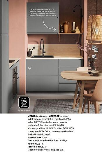 Ikea Keuken Actie 2020 Nederland