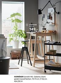 Norråker bartafel-Huismerk - Ikea