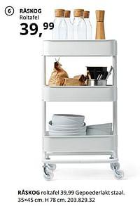 Råskog roltafel-Huismerk - Ikea
