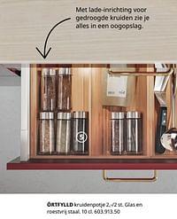 Örtfylld kruidenpotje-Huismerk - Ikea